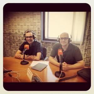 Antonio Jesús Ramos y Serafín Fernández en Canal Sur Radio - 2012