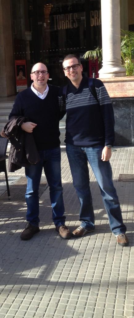 Serafín y Antonio J en Palma de Mallorca,2013