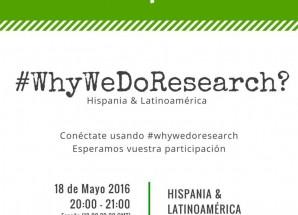Únete al debate sobre investigación en salud: #WhyWeDoResearch