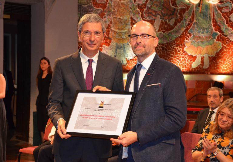 PiCuida, la Red de Cuidados de Andalucía, recibe el premio a la mejor web de una institución sanitaria